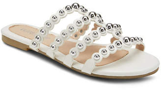 OLIVIA MILLER Piece of Cake Beaded Sandals Women Shoes