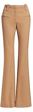 Altuzarra Women's Serge Stretch Virgin Wool Flare Pants