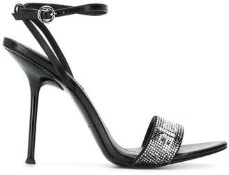 Alexander Wang embellished strap sandals