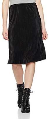Only Women's onlSASHU LONG SKIRT WVN Skirt, Black