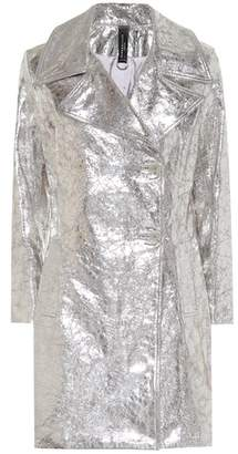 Simon Miller Metallic leather coat