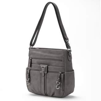 c8f82823ae1e Rosetti Gray Faux Leather Handbags - ShopStyle