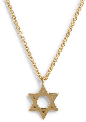 Bony Levy 14K Star of David Pendant Necklace