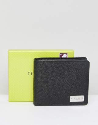 Ted Baker Bifold Wallet With Coin Pocket In Leather