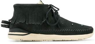 Visvim fringed sneakers