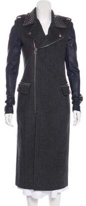 Thomas Wylde Silk-Blend Coat