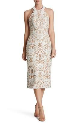 Dress the Population Cassie Sequin Midi Dress