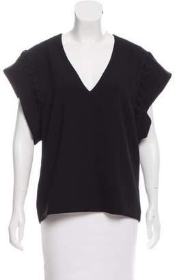 IRO Short Sleeve V-Neck Top w/ Tags