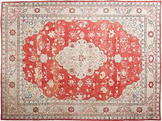 "One Kings Lane Vintage Antique Oushak Carpet - 11' x 16'3"" - Eli Peer Oriental Rugs"