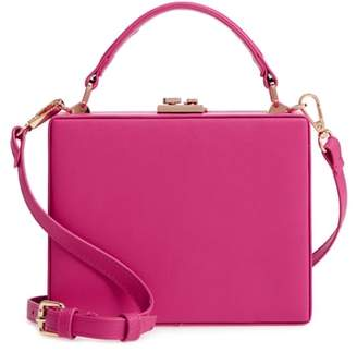 Street Level Faux Leather Crossbody Bag