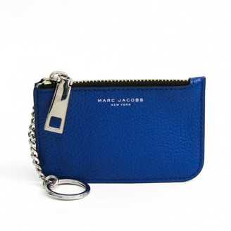 Marc Jacobs Blue Leather Purses, wallets & cases