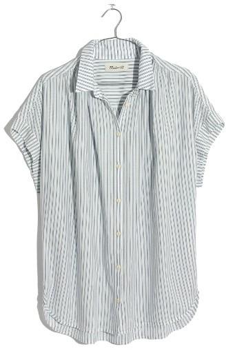 Women's Madewell Central Stripe Shirt