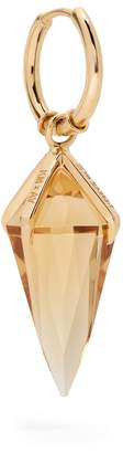 Kate Moss ARA VARTANIAN X citrine & yellow-gold single earring