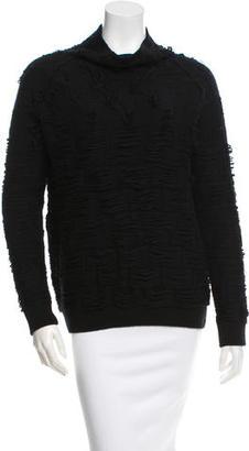 Yohji Yamamoto Textured Wool Sweater $145 thestylecure.com