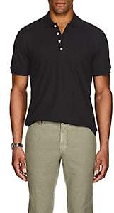 Barneys New York Men's Pima Cotton Polo Shirt - Black
