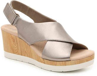 Clarks Cammy Pearl Wedge Sandal - Women's