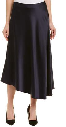 Lafayette 148 New York Dessie Asymmetric Midi Skirt