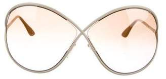 Tom Ford Lilliana Oversize Sunglasses