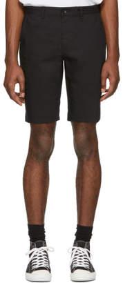 Rag & Bone Black Classic Chino Shorts
