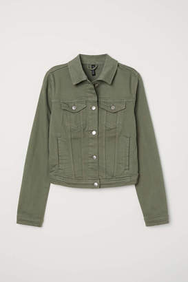 H&M Denim Jacket - Dark denim blue - Women