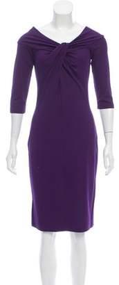 Michael Kors Knit Bateau Neck Dress