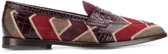 Etro colour block loafers
