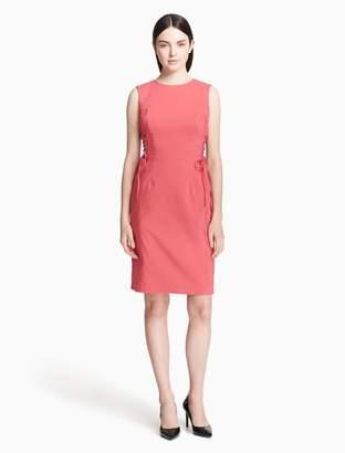 Calvin Klein corset waist sheath dress