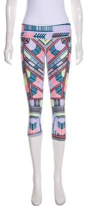 Mara Hoffman Low-Rise Printed Leggings