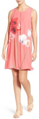 Women's Cece Floral Print Shift Dress $129 thestylecure.com