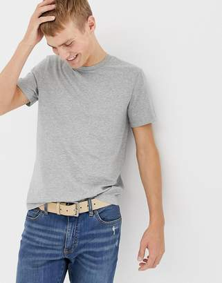 J.Crew Mercantile washed crew neck t-shirt in gray marl