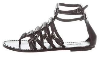 Belle by Sigerson Morrison Leather Gladiator Sandals
