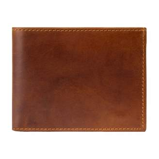 Mahi Leather Classic Leather Wallet In Vintage Brown
