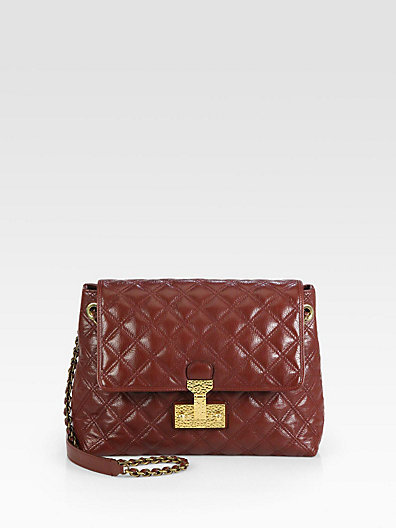 Marc Jacobs Baroque XL Single Quilted Shoulder Bag