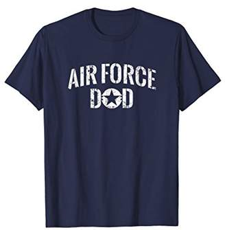 Distressed Air Force Dad T Shirt - 20368