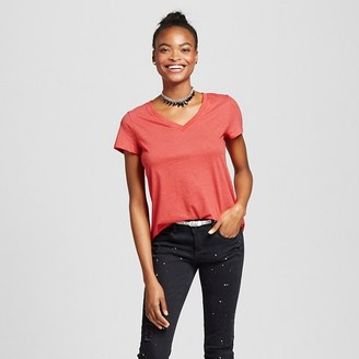 Mossimo Supply Co. Women's Short Sleeve Relaxed V-Neck Tee - Mossimo Supply Co. $9 thestylecure.com