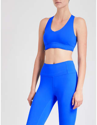 Monreal London Essential V stretch-jersey sports bra