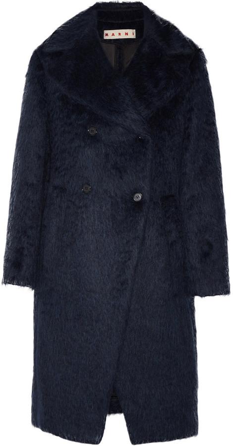 Marni Brushed Wool and Alpaca-Blend Coat