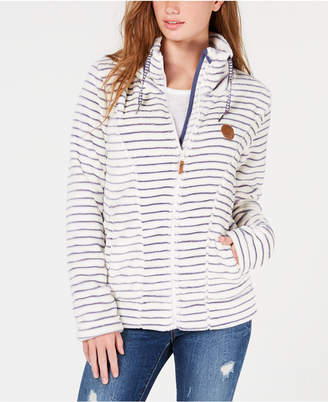 Roxy Juniors' Eskimo Zip-Up Fleece Jacket