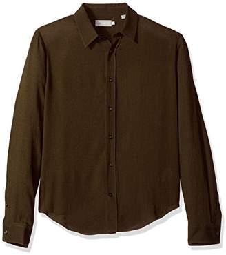 Vince Men's Long Sleeve Knit Shirt