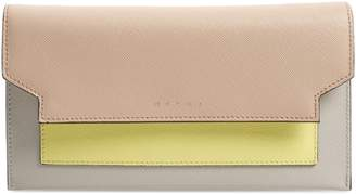 Marni (マルニ) - Marni Trunk Leather Crossbody Wallet