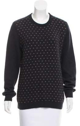 Ted Baker Abstract-Patterned Crew Neck Sweater