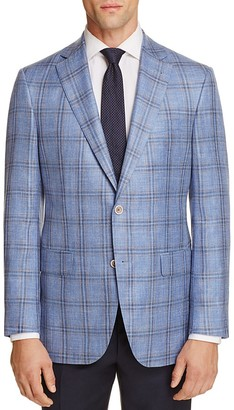 Jack Victor Loro Piana Plaid Classic Fit Sport Coat - 100% Exclusive $695 thestylecure.com