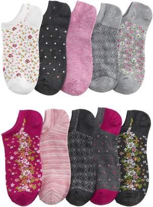 Sonoma Goods For Life Women's SONOMA Goods for Life 10-Pack No-Show Novelty Socks
