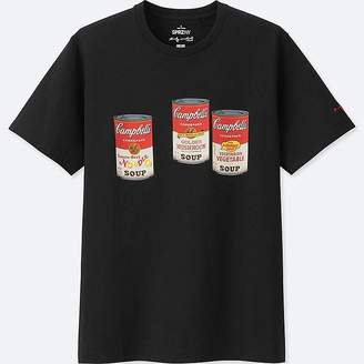 Uniqlo Men's Sprz Ny Short-sleeve Graphic T-Shirt (andy Warhol)
