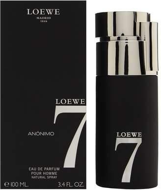 Loewe 7 Anonimo by for Men 3.4 oz Eau de Toilette Spray