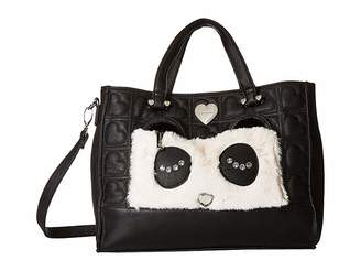 Betsey Johnson Kitsch Tote With Pouch Handbags