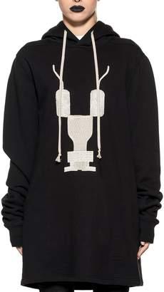 Drkshdw Black Hooded Sweatshirt