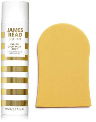 Express James Read Glow Mask Body & Tanning Mitt Set