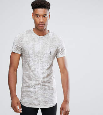 Religion TALL T-Shirt With Texture And Logo