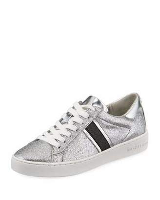 MICHAEL Michael Kors Keaton Stripe Glitter Sneakers